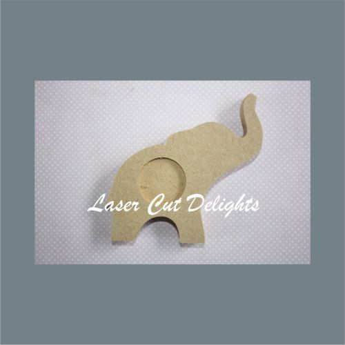 Candle Holder Elephant 18mm 14cm (wide)