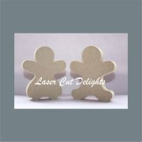 Gingerbread Person 18mm / Laser Cut Delights