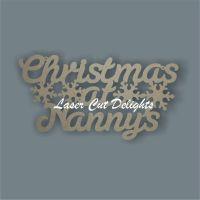 Christmas at ...'name' 3mm 30cm