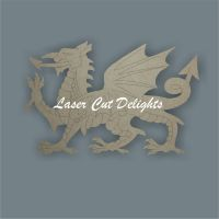Welsh Dragon 3mm (size based on length)