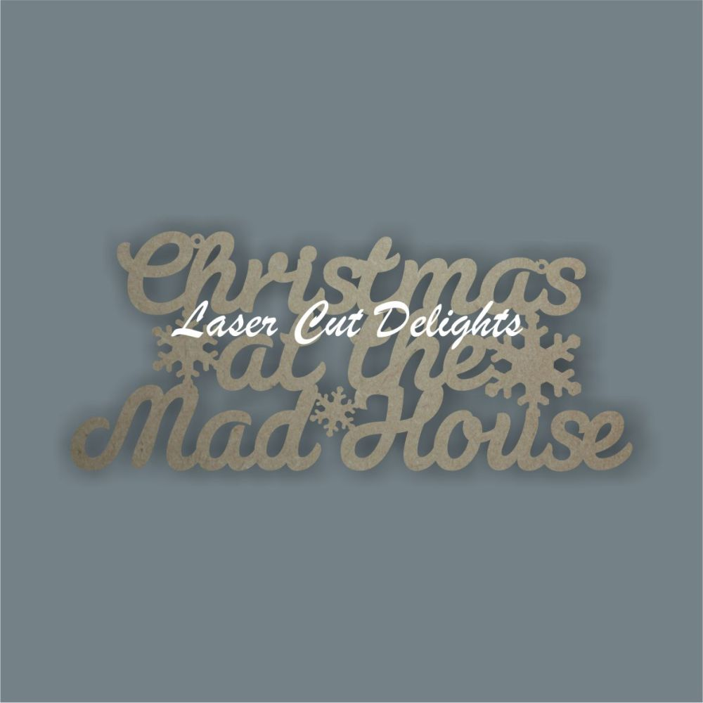 Christmas at the mad house 3mm 30cm