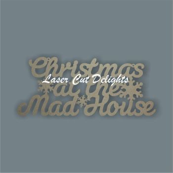 Christmas at the mad house (italic) 3mm 30cm