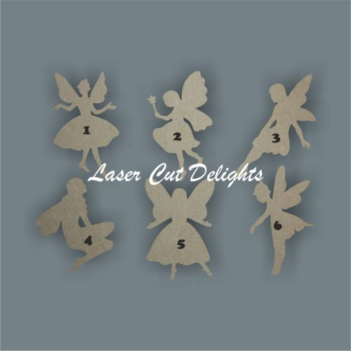 Fairies Basic (Choice of 6) 3mm 10cm