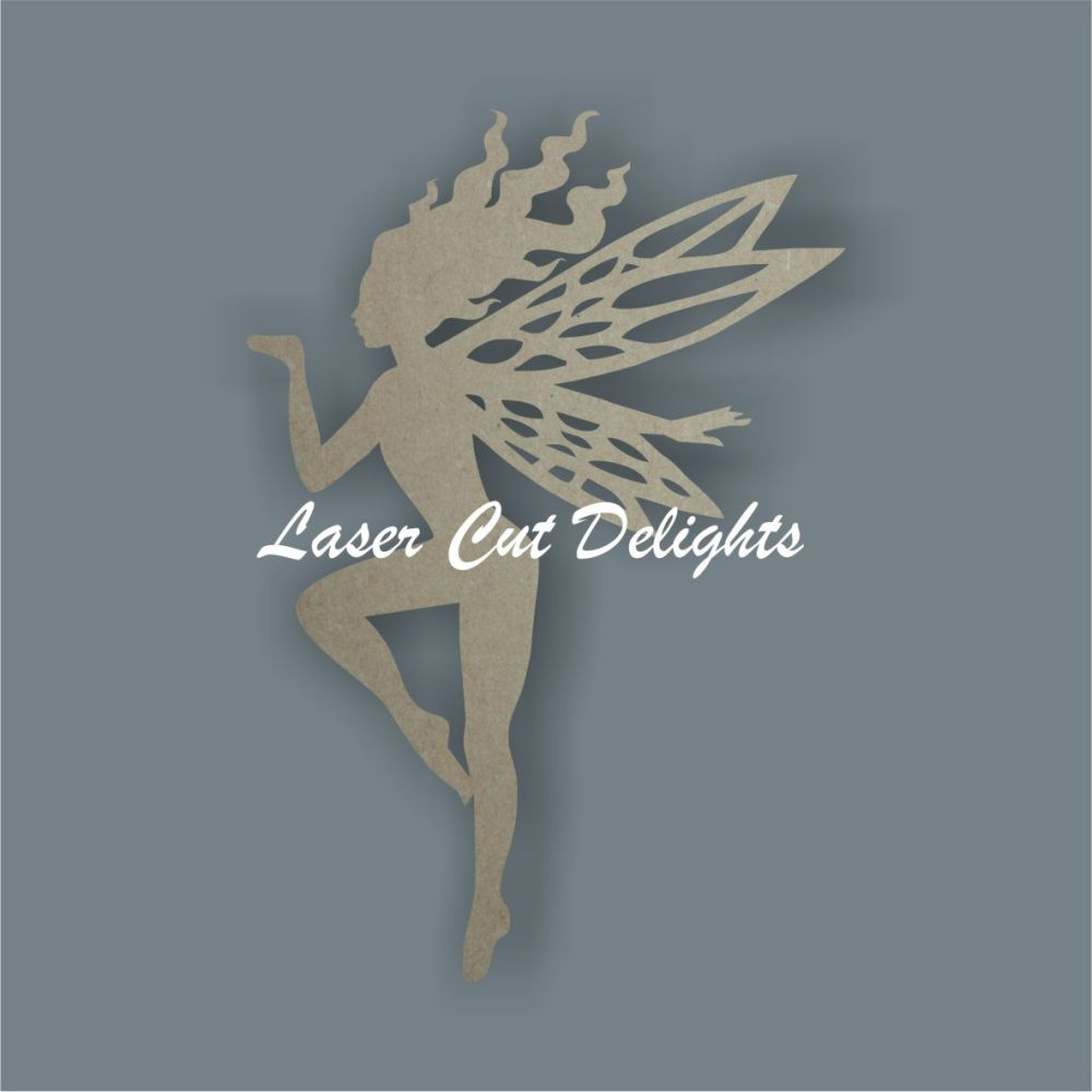 Fairy Blowing a Kiss / Laser Cut Delights
