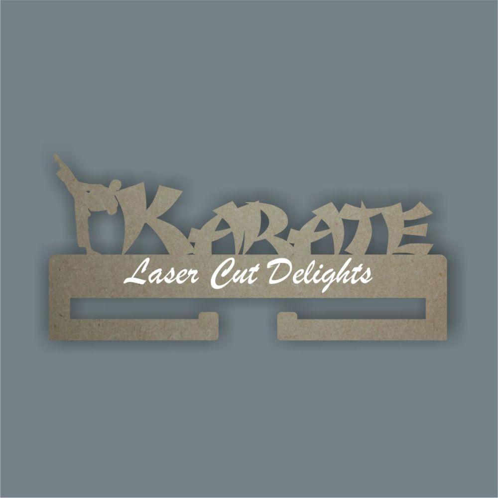 Medal KARATE Hanger / Laser Cut Delights