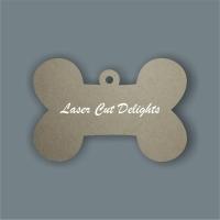 Dog Bone Tag / Laser Cut Delights