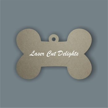 Dog Bone Tag 3mm