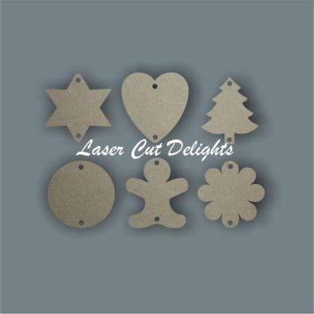 Birthday Calendar Dates Extra Tallies Tags Discs 3mm