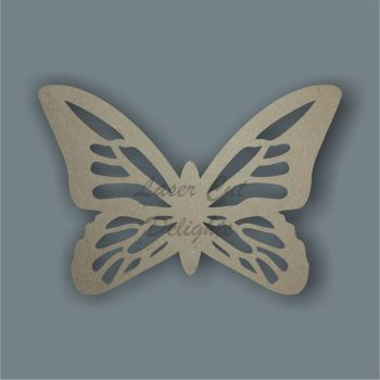 Butterfly Detailed 3mm 10cm wide