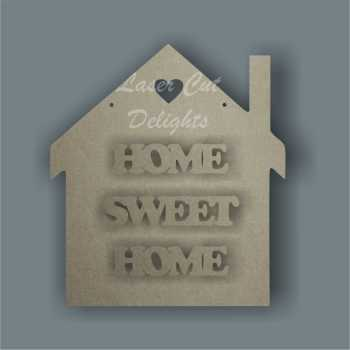 House 3D - HOME SWEET HOME / Laser Cut Delights