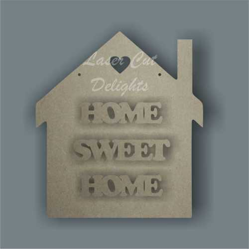 House - HOME SWEET HOME 3mm 20cm
