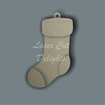 Stocking 3D 15cm / Laser Cut Delights