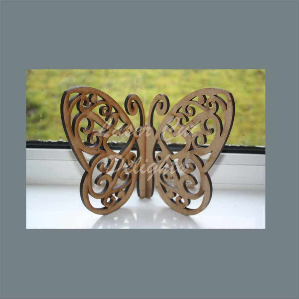 Ornate Butterfly 20cm