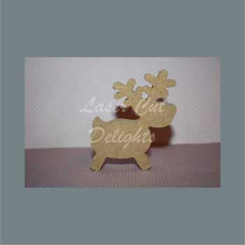 Reindeer Cute Outline 18mm (height)