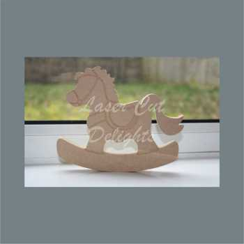 Rocking Horse 18mm 15cm (tall)