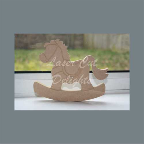 Rocking Horse 18mm 15cm