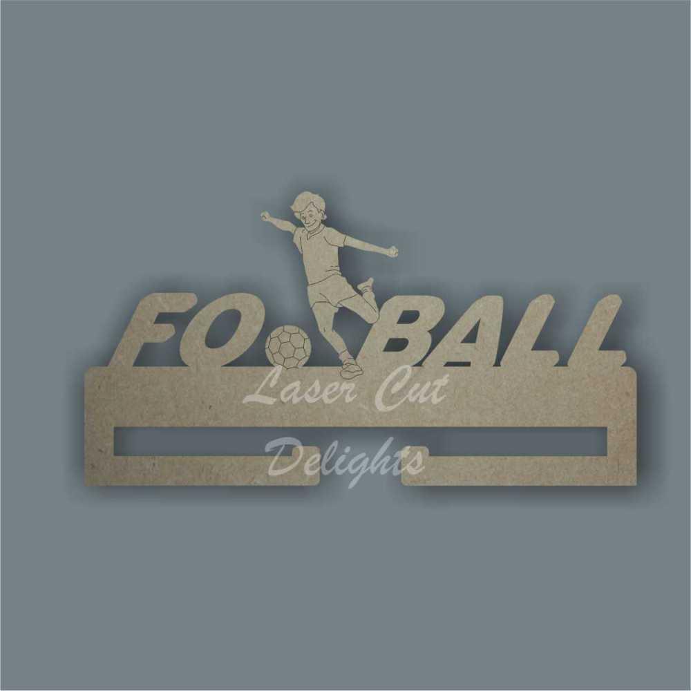 Medal FOOTBALL Hanger / Laser Cut Delights