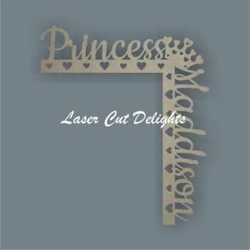 Door Corner Hanger PRINCESS/PRINCE 30cm 3mm