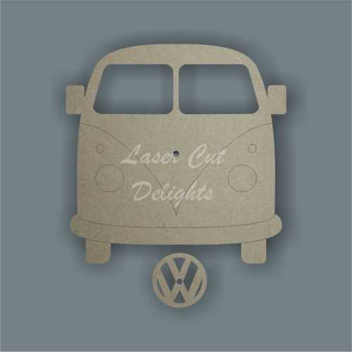 campervan clock laser cut