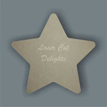 Stars (curved edges) 3mm