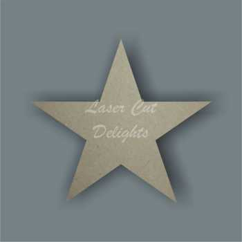 Star (standard) 3mm / Laser Cut Delights