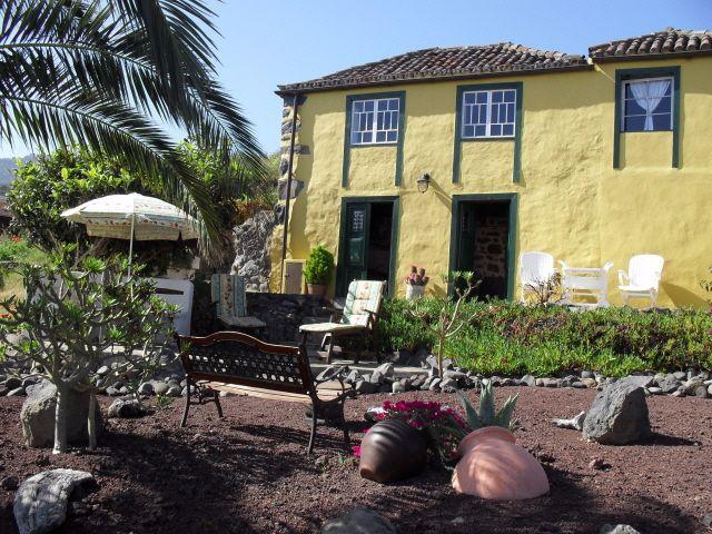 Rural Cottage for holiday rental la palma