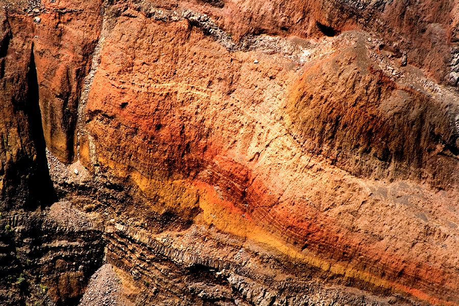 Rock strata - this is great, on so many levels