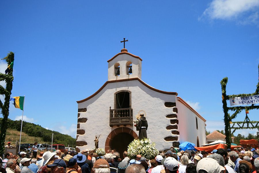 Church San Antonio del Monte fiesta