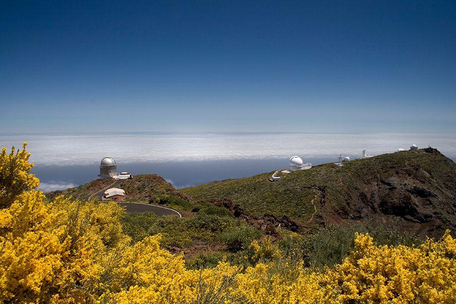Observatories Roque de Muchachos ROM