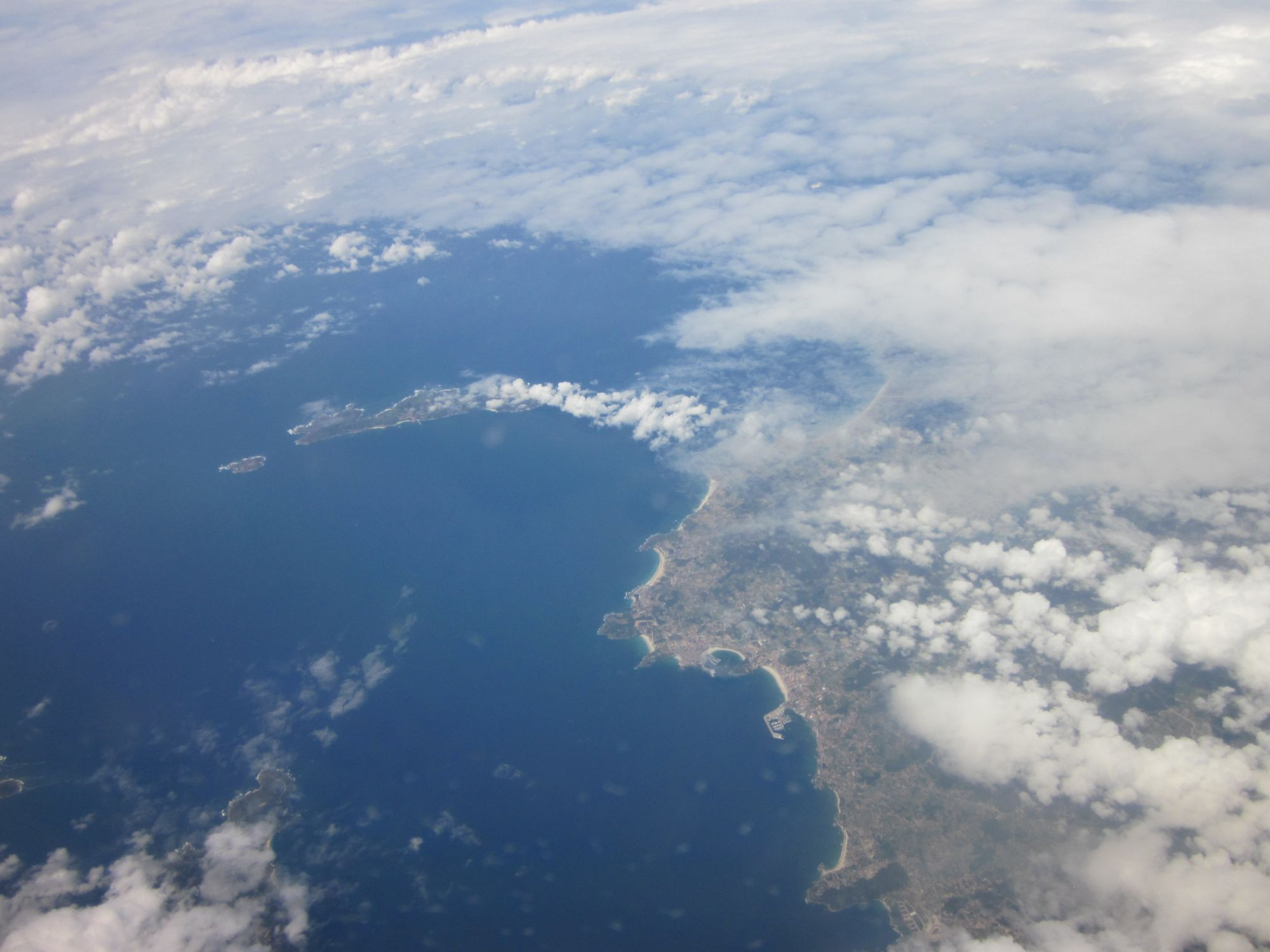 flying to Tenerife, Canary Islands