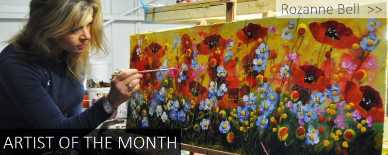 artist of the month - rozanne bell