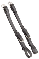 Open Cheek Straps for zilco driving bridles