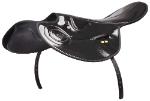1.5kg Patent Race Saddle - Black