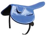 Patent Race Saddle 750g - Blue