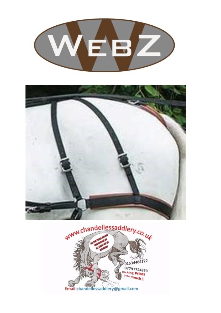 zilco web z breeching seat