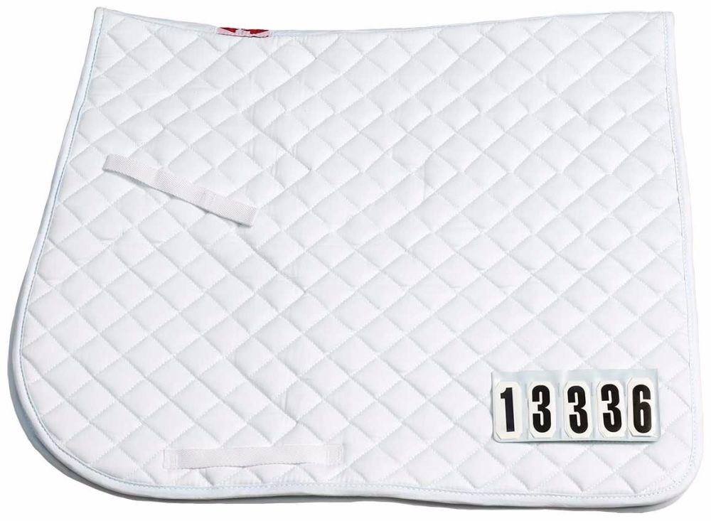 Zilco Competition Number Dressage Saddlecloth