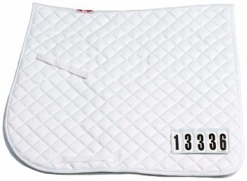 Saddlecloth Competition Number Dressage Zilco