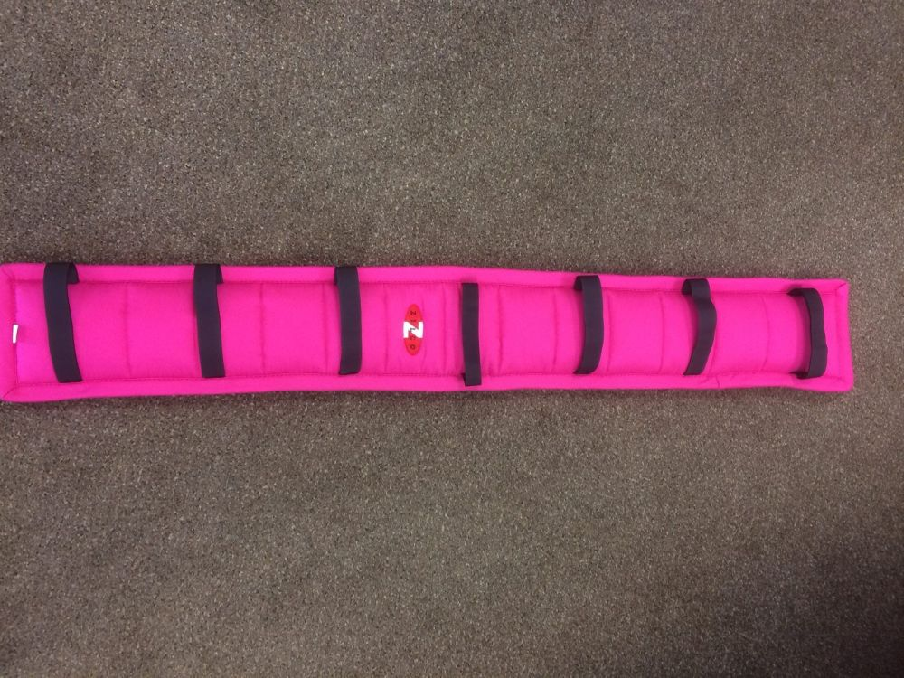 Zilco Driva Puffer Harness Pad - Cerise -Pink