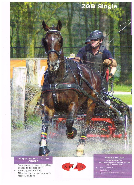Full Zilco Driving Harness Z Grip Reins Pony Cob
