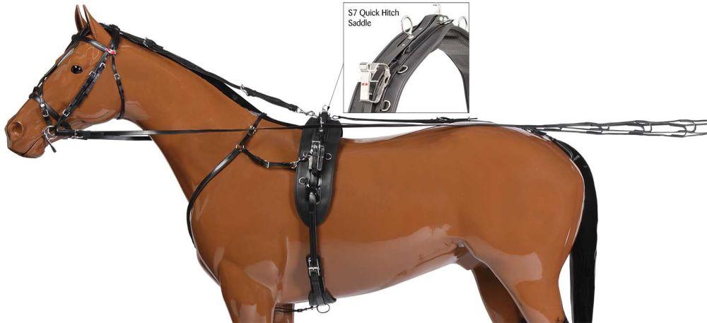 Quick Hitch H307 Harness Set - Black