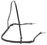 Breastplate with Clips - Black