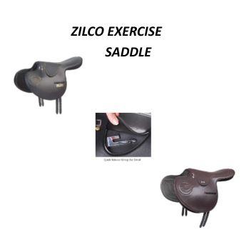 Exercise Saddle - Zilco Quick Release