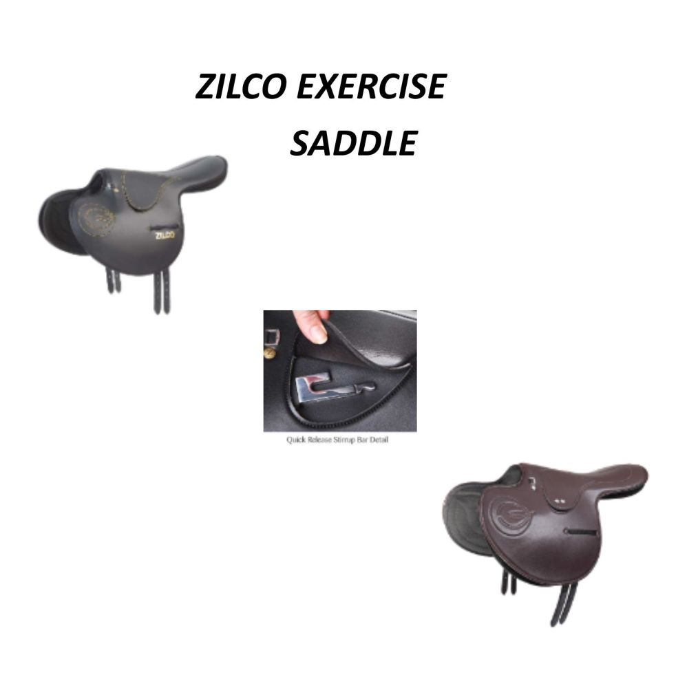 ZILCO Exercise Saddle - Quick Release