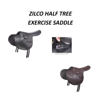 Half Tree Exercise Saddle Zilco