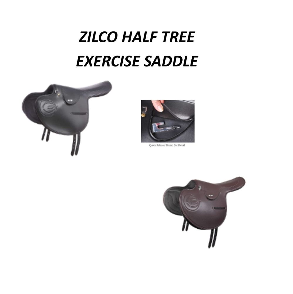 Zilco Half Tree Exercise saddle