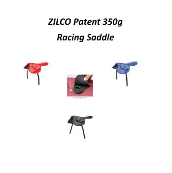 Zilco Patent Race saddle 350g