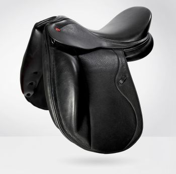 Saddle-Interchangeable Gullet - Black John Whitaker Vienna Dressage