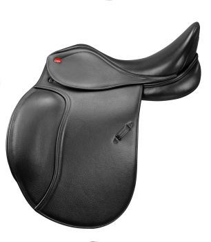 "Dressage Saddle John Whitaker Harrogate - Black- 16.5""-18"" Seat"
