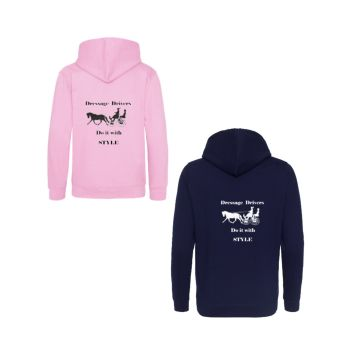 Dressage Driver Collage Hoodie