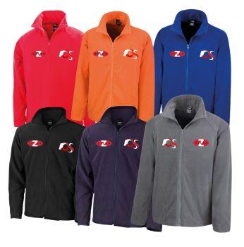 Fleece Teamwear Jacket with Zilco and Chandelles Logo